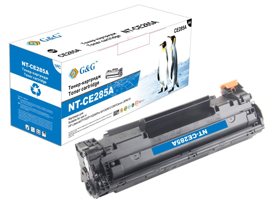 Картридж G&G NT-CE285A for HP LJ Pro P1102/1102w/M1132/1212/1214/1217/Canon LBP-6020/MF-3010